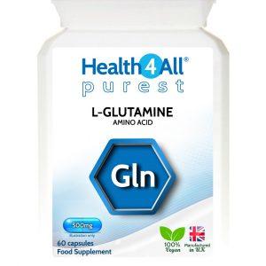 L-Glutamine 500mg amino acid capsules