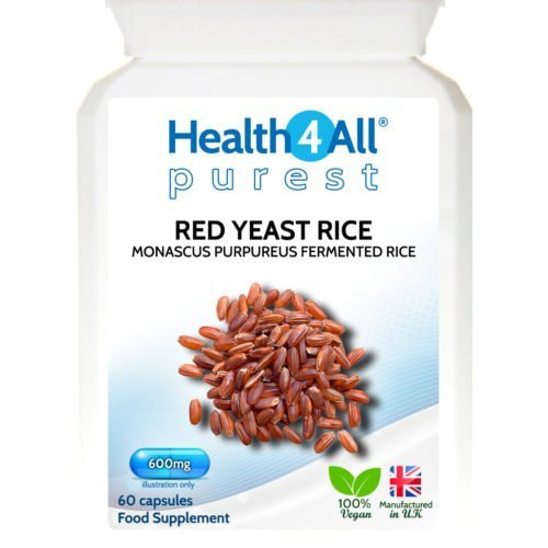 Red Yeast Rice cholesterol statin natural supplement