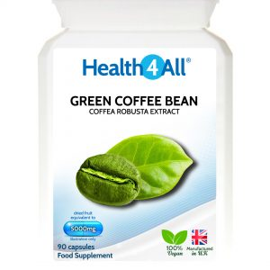 Green Coffee Bean Extract 5000mg capsules