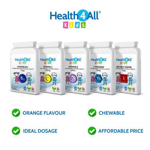Health4All Kids orange chewable tablets