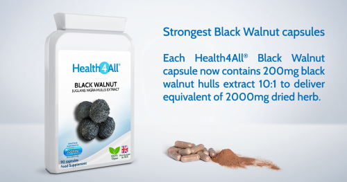 Strongest Black Walnut capsules
