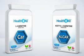 What is the difference between L-Carnitine vs Acetyl L-Carnitine ALCAR