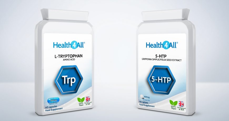 What is the difference between 5-htp and l-tryptophan?