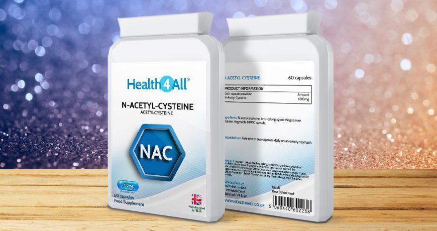 NAC N-Acetyl-Cysteine benefits