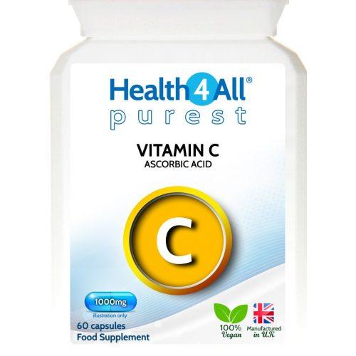 Vitamin C ascorbic acid purest capsules