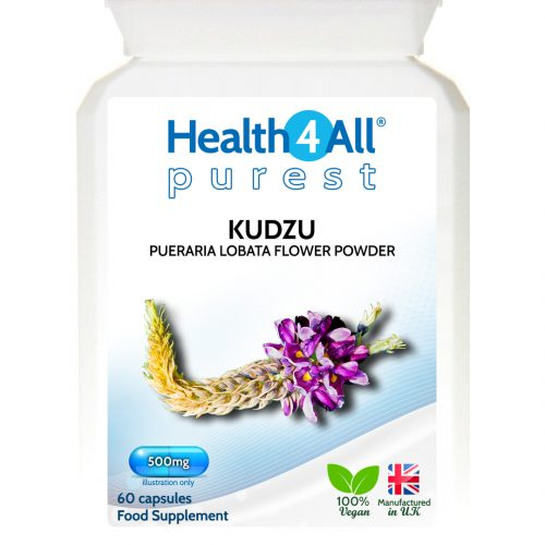 Kudzu flower hangover remedy capsules from Health4All