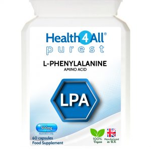 L-Phenylalanine purest 500mg capsules - nootropic - Health4All