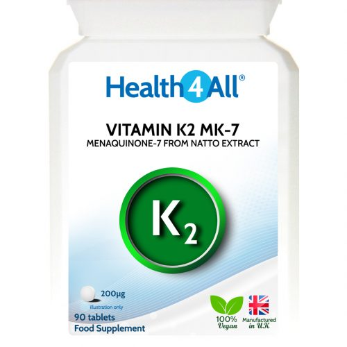 Vitamin K2 MK-7 menaquinone-7 from natto extract