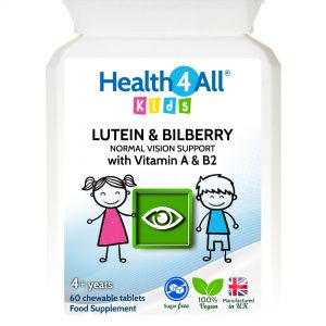 Kids Lutein & Bilberry Normal Vision Support chewable tablets