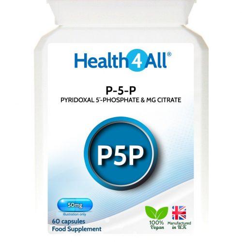 B6 Pyridoxal 5'-Phosphate with Magnesium Capsules