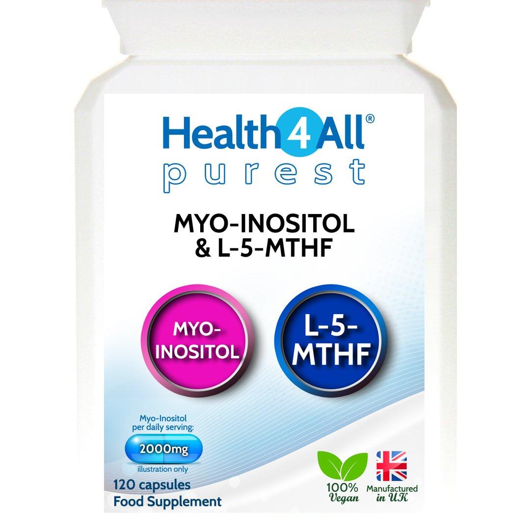 Myo-Inositol 500mg & L-5-MTHF Capsules