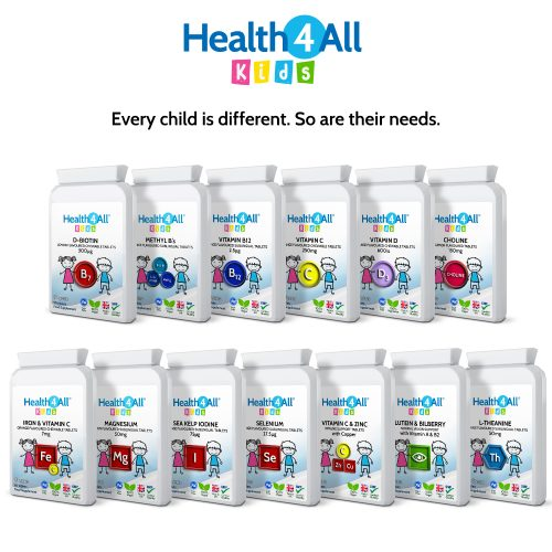 Health4all Kids vitamins and supplements for children